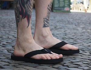 REEF-Zehentrenner-SMOOTHY-black-schwarz-Strand-Schlappen-NEU-Schuhe-Unisex