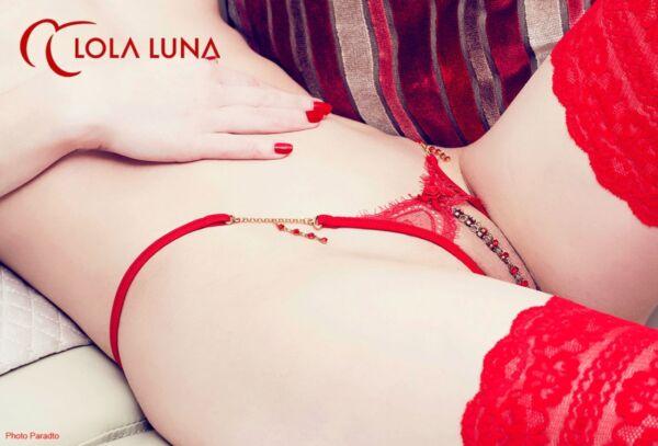 LOLA LUNA String VALENTINE open S M L XL