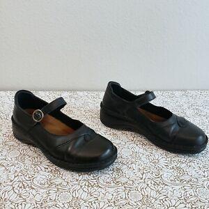 Naot-Black-Leather-Mary-Jane-Shoes-Womens-Size-39-EU-US-8-8-5