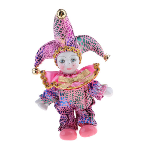 5inch Triangel Doll Standing Love Token in Pink Costume Home Display Decor
