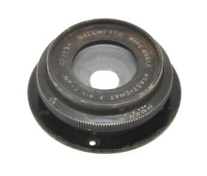 Dallmeyer-old-Wide-Angle-Anastigmat-lens-5-1-2-034-c-140mm-F-6-5-exc