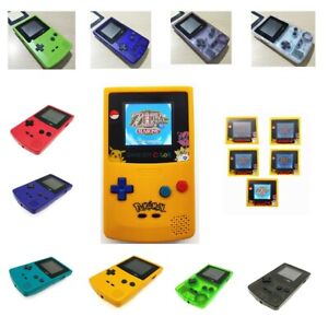 Refurbished-Game-Boy-Color-GBC-Console-With-Backlight-Back-Light-LCD-High-Light