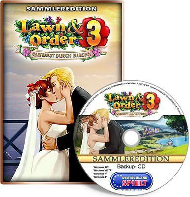 Lawn & Order 3 - Querbeet durch Europa - Sammleredition - PC - XP/VISTA/7/8/10