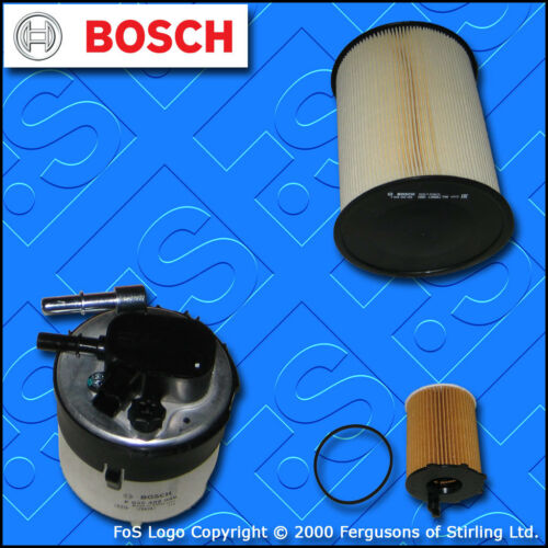 SERVICE KIT for FORD FOCUS MK2 1.6 TDCI BOSCH OIL AIR FUEL FILTERS 2007-2012