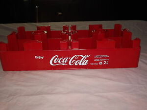 VINTAGE-SODA-1993-ENJOY-COCA-COLA-COKE-2-LITRE-BOTTLE-PLASTIC-CASE