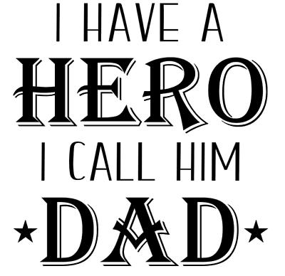 My Favourite Superhero Daddy//Dad//Grandad Father/'s Day Vinyl Box Frame Decal