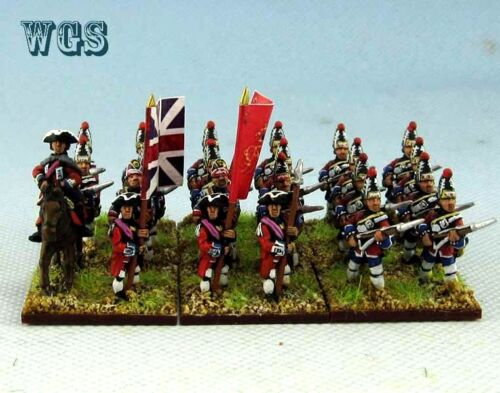 15mm SYW Seven Years War WGS Painted British Grenadier BA8