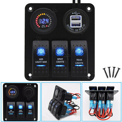 Genuine Marine Rocker Switches+Dual USB Charger /…