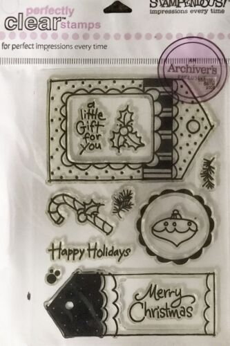 Stampendous Perfectly Clear Stamps lot to choose