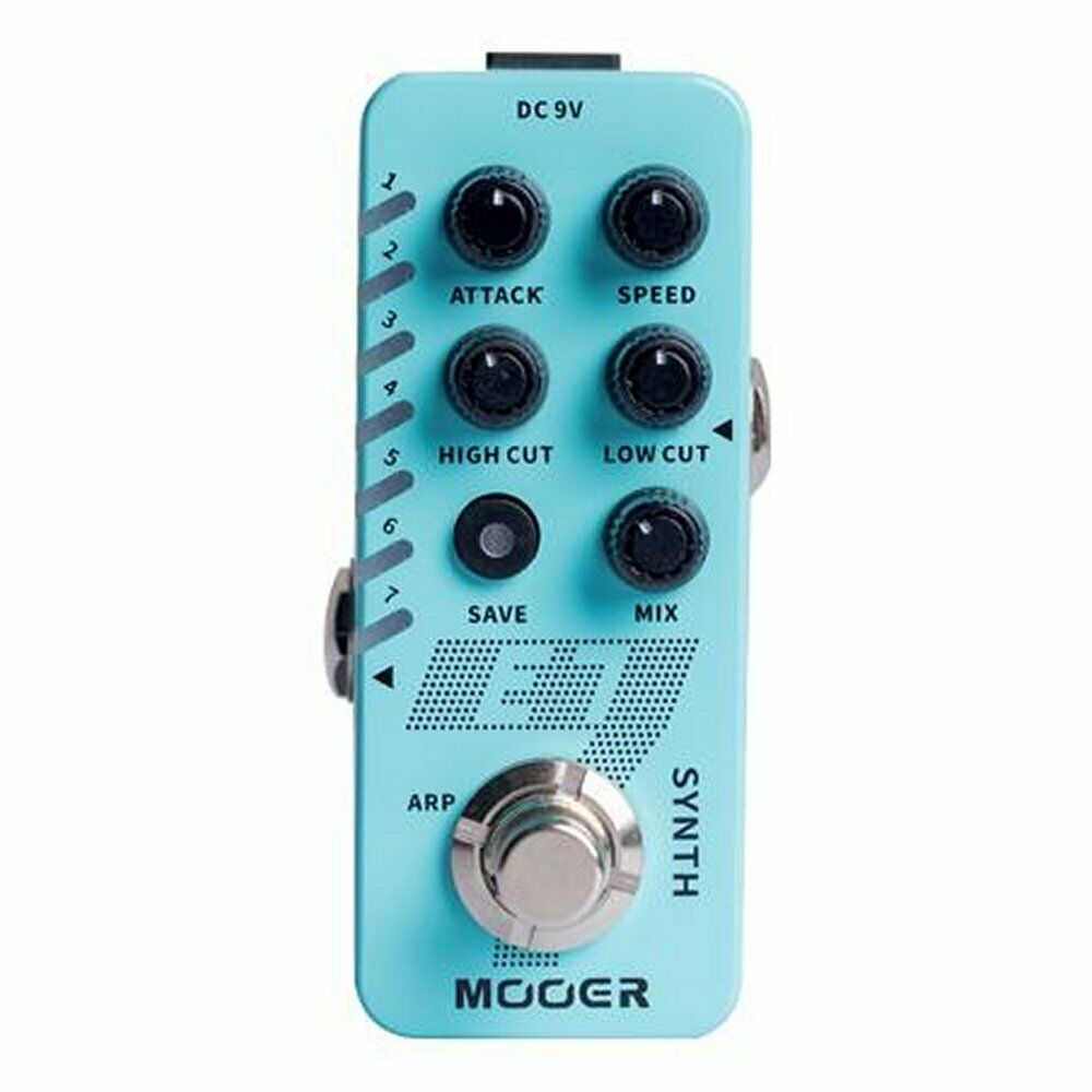 Mooer Micro Compact E7 Polyphonic Guitar Synth Effects Pedal