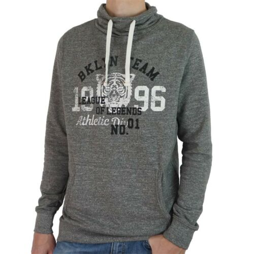 MT-3XT Tall KITARO Herren Sweatshirt Pullover Schlauchkragen Motiv Überlänge Gr