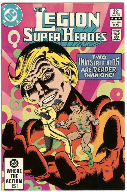 Legion Of Super Heroes 295 1983 Keith Giffen Larry: The Legion Of Super-Heroes #299 (May 1983, DC) For Sale