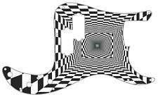 P Bass Precision Pickguard Custom Fender 13 Hole Guitar Pick Guard Block Tunnel
