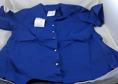 100% Vero Royal Blue Sovereign Ladies Tunics Workwear Pack Of 7 In Various Sizes Clearance