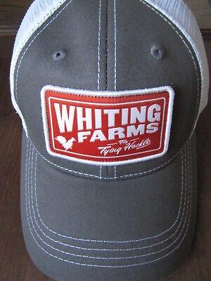 Vintage Khaki Fly Fishing-Whiting Farms Cotton Twill Logo Cap
