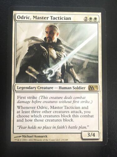 Master Tactician Magic 2013 NM-Mint MTG Odric English