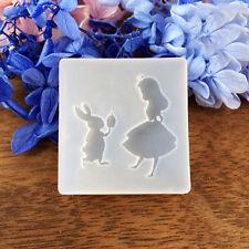 Square Cartoon Cute Fondant Cake Decorating Mold Chocolate Mould Silicone Tools