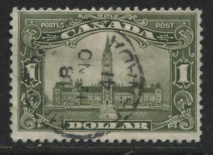 Canada KGV 1929 $1 Parliament used (JD)