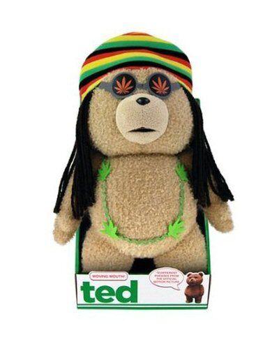 Ted The Movie 40.6cm Mund Beweglicher Rasta Ted Plüsch Neues Tolles Geschenk Pg