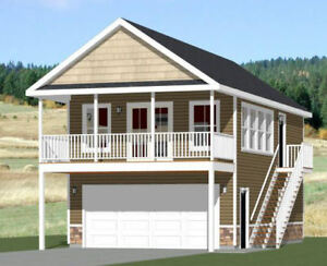 Model 6F 20x32 House 808 sq ft PDF Floor Plan