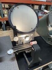 Microvu Model 500 12 Optical Comparator Machine Benchtop Inspection