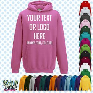 Custom Personalised Baby//Kids//Childrens SWEATSHIRT Name Funny Gift-Yr text//logo3