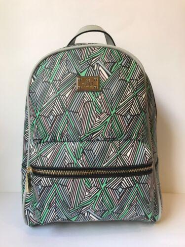 moyen imprimé avec London gris vert frontale à poche Bessie Couture à dos aztèque Sac P0q6TXn