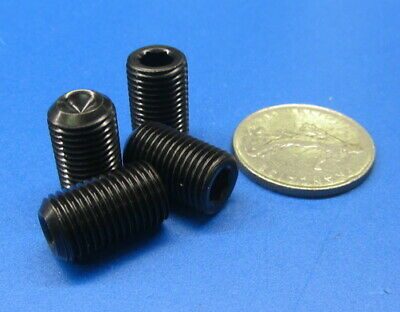 M12 x 1.75 mm x 60 mm Length 5 pcs Metric Alloy Steel Cup Point Set Screws