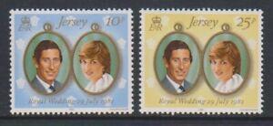 Jersey-1981-Mariage-Royal-Charles-amp-Diana-Ensemble-MNH-Sg-284-5