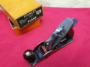 Vintage Stanley No. 10 1/2 Carriage Maker's Rabbet Rebate Plane Boxed Used Twice