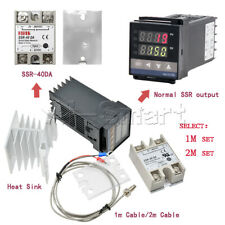 Rex C100 Ssr Output K Thermocouple 0 To 999 Digital Pid Thermostat Temperature