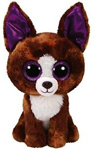 Ty 15cm Dexter the Chihuahua Beanie Boos Plush Stuffed Animal w  Ty ... ab8cbfae9e2e