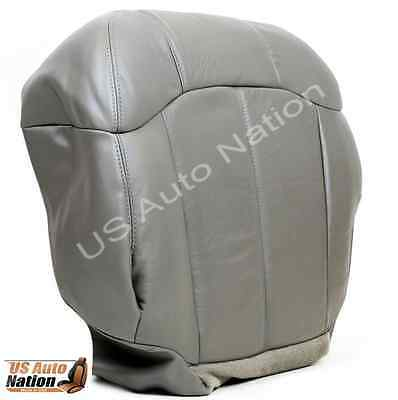 US Auto Nation Chevy Silverado 2500HD LT Driver Bottom Leather Seat Cover Tan