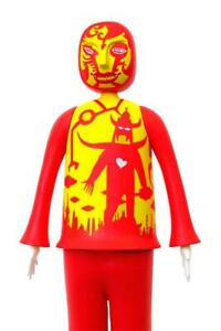 Figurine en vinyle 13 Onion Love Red/yellow Invader 13