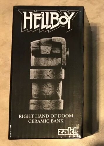 Hellboy Right Hand of Doom Ceramic Bank NEW in box Loot Crate Exclusive Zak!