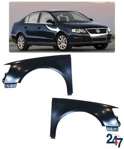 NEW-VOLKSWAGEN-PASSAT-B6-2006-2010-FRONT-PRIMED-WING-FENDER-PAIR-SET-LEFT-RIGHT