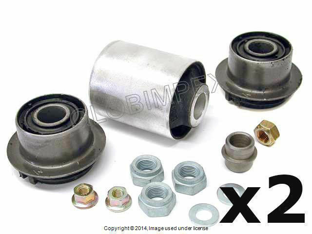 Mercedes w202 FRONT INNER LOWER Control Arm Bushing Kit Set of 2 LEMFOERDER OEM