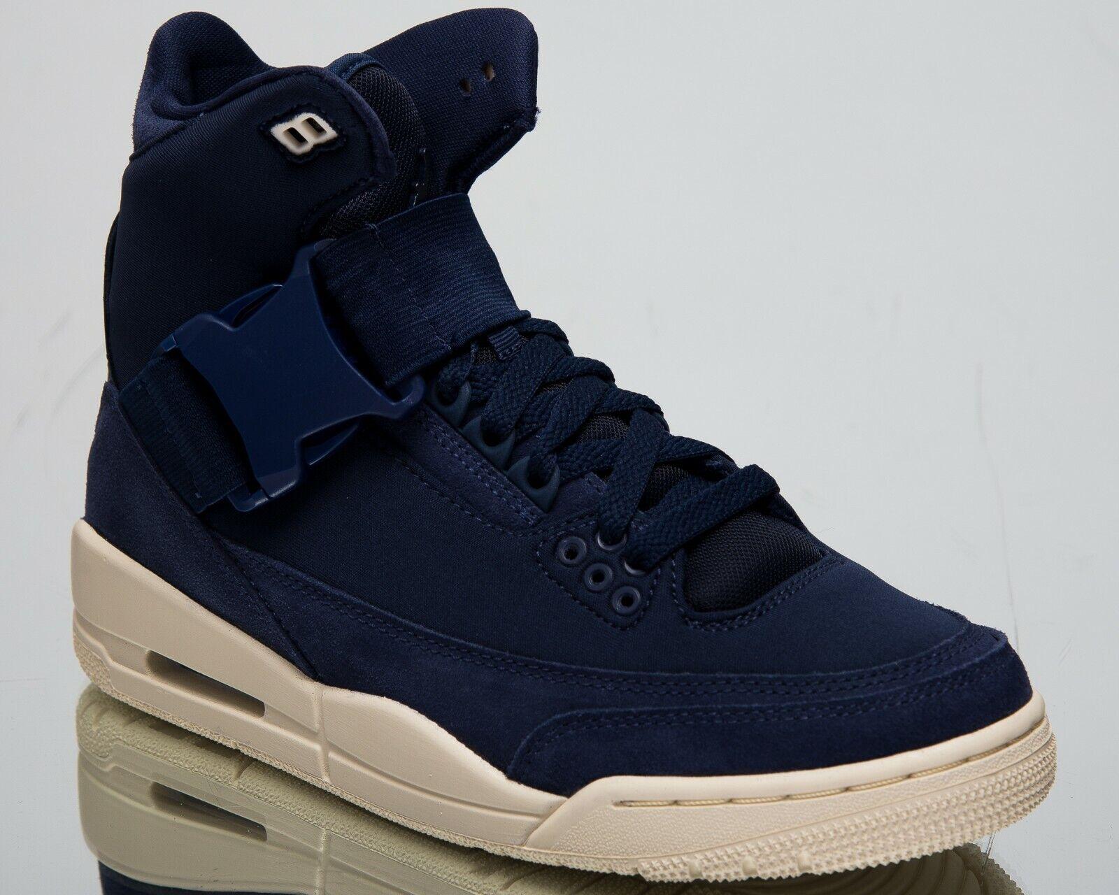 Aire jordan señora 3 retro Explorer XXL Lifestyle zapatos medianoche azul marino