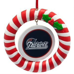 New England Patriots Christmas Ornaments