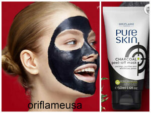 Pure Skin Charcoal Peel Off Mask Face Oriflame Sweden 34872 50 Ml New Ebay