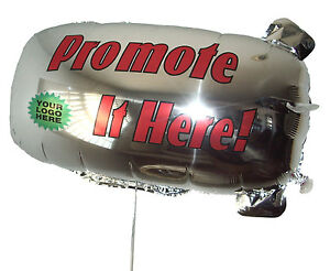 ZEP-AIR-Advertising-Promotional-or-Greeting-Blimp-Tethered-Foil-Balloon-32-034-x16-034