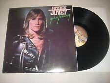 Patrick Juvet - Got a feeling Vinyl LP