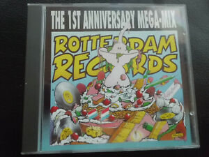Rotterdam Records-The 1st Anniversary Mega-Mix, CD, techno, GABBER