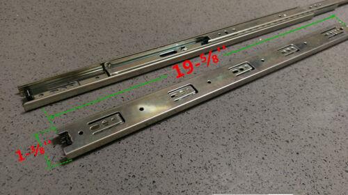 Full extension 20/'/' Length 35mm Ball Bearing Drawer Slide Glider Rear Bracket