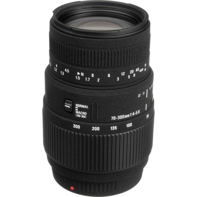 Sigma 70-300mm F4-5.6 DG Macro Zoom Lens For Sony 509934,London