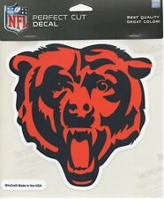 "Perfect Cut Decal - Chicago Bears - Bear logo  Sticker NFL 7"" - New"