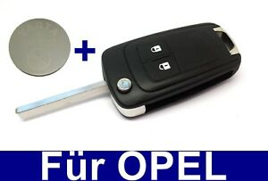 2t Spare Folding Key Housing for Vauxhall Astra Insignia ...