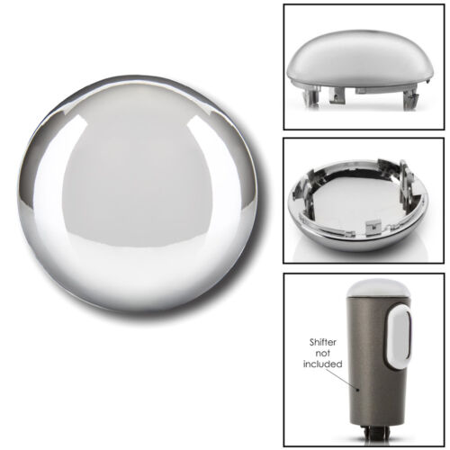 Shifter Knob Triple Chrome Plated Cap for 2004-2006 Ford F-150 W//Stronger Clips