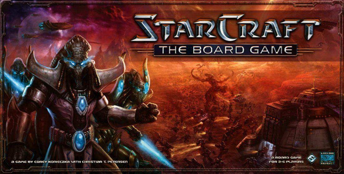 Starcraft le Jeu de Plateau-Fantasy Flight Games 100% complet de paquet ouvert