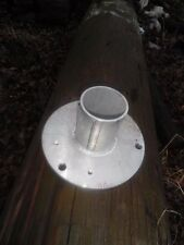 Round  Aluminum, Anchor Base Light Pole COMMERCIAL, INDUSTRIAL GRADE!
